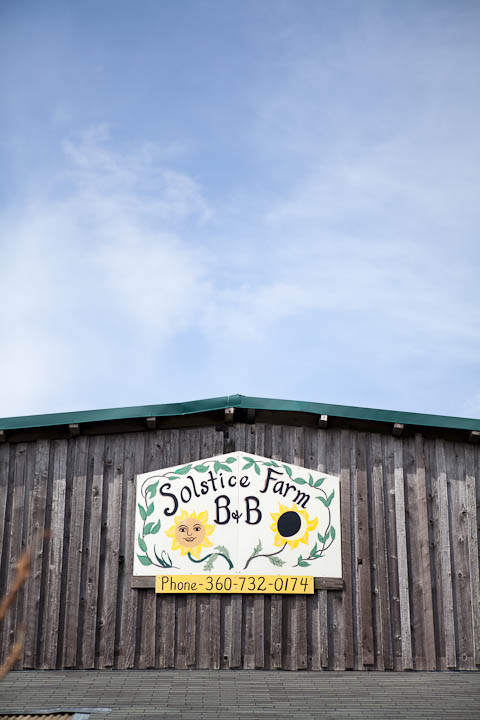 Solstice Farmstay Port Townsend Sign Photograph