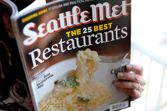 Olivia B Seattle Met Magazine Cover Best Restaurants