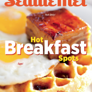 Olivia Brent Seattle Food Photography Magazine Cover Waffles