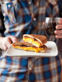 Olivia Brent Food Photography Seattle Breakfast Sandwich