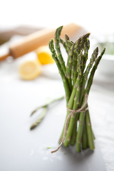 Olivia Brent Food Photographer in Seattle Asparagus and Lemon Tart