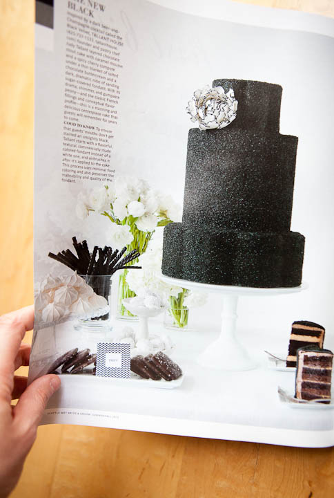 Best Seattle Food Photographer Olivia Brent Cakes Bride and Groom