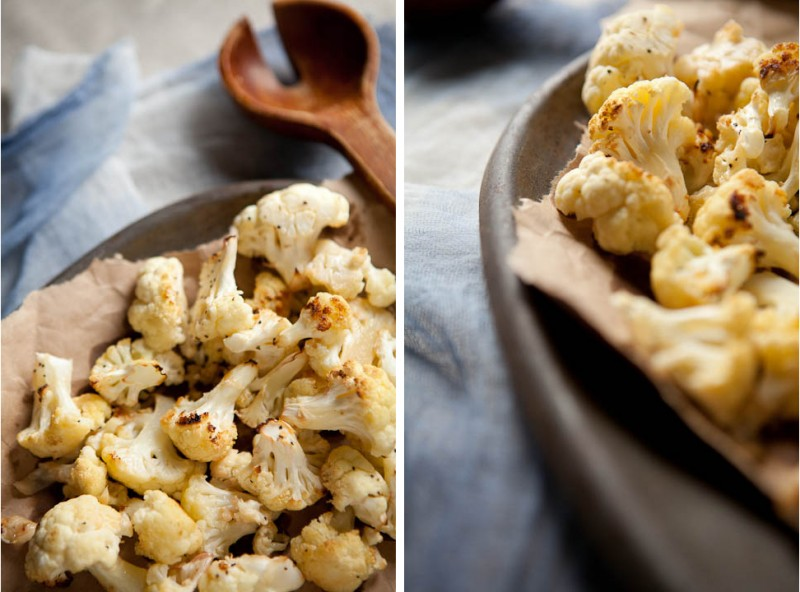 Olivia Brent Seattle Food Photographer Cauliflower Moody