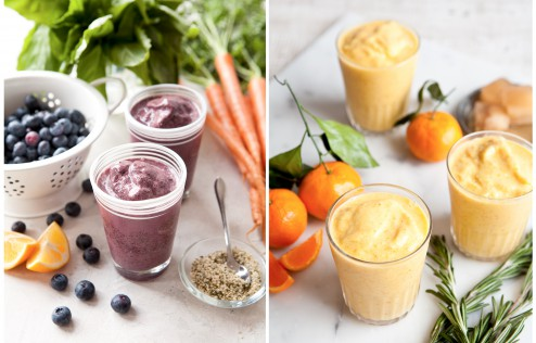 daniella chace, olivia brent, seattle food photography, smoothies, breast cancer